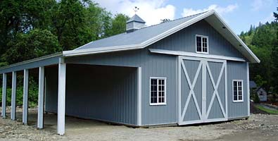 Custom buildings and shops for Pole barn for rv storage