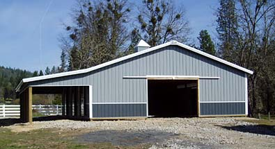 Custom buildings and shops for Cost to build rv garage